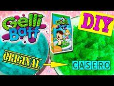 Cómo hacer GELLI BAFF casero * DIY Gelli Baff y review - YouTube