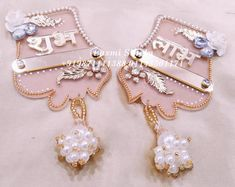 Designer Shubh Labh Hanging Labh Contact us : 9871111388 (call & whats app) Visit our Store : Laxmi singla. The Wedding Designers. C ,Saraswati Vihar, Service Lane ,Outer Ring Road, Pitam Pura Diwali Diy, Diwali Craft, Diwali Decorations, Wedding Decorations, Wedding Designers, Rakhi Design, Door Hangings, Birthday Wishes, Wedding Cards
