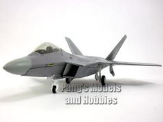 Lockheed Martin F-22 Raptor USAF 1/72 Scale Diecast Model by Air Force 1