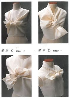 """Blouses with twists from the Japanese book """"Pattern Magic"""""""