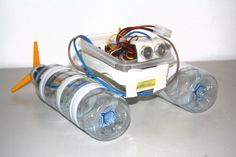 Small Homemade Robot for Beginners | This will show you how to build a robot boat from cheap and easy to ...