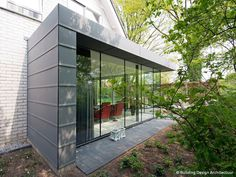 Zinken uitbouw © Building Design Architectuur