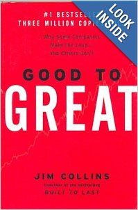 In 2001, Collins embarked on a mammoth five-year research study to work out how companies can migrate from being merely good to being great. First you raise your company standards from good to great, and then the resulting organisation will truly be built to last.