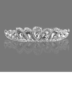 Gorgeous Clear Crystals Bridal Tiara (042005588)