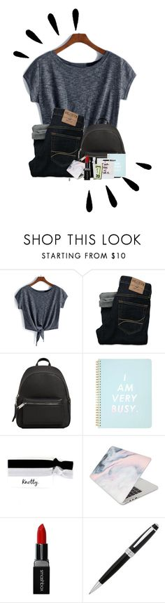 """""""QOTP: Should I Do A Morning/Night Routine?"""" by fashionwithdawn ❤ liked on Polyvore featuring Hollister Co., MANGO, Miss Selfridge, Old Navy, Recover, Smashbox, John Lewis and procrastination"""