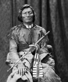 Cheyenne leader Dull Knife and his band had escaped from Indian Territory back to Dakota but they were soon betrayed and arrested. At Fort Robinson the men were imprisoned. The women approached them and said it was better to die than to live like slaves. Guns were smuggled to the men by the women and they escaped to the nearest ditch to make a stand. When they ran out of ammo, the men stood up and bared their chests then the women stood up, some with babies. They were all shot dead. Photo…