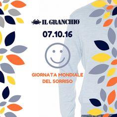 """""""Non si è mai completamente vestiti senza un sorriso."""" - Martin Charnin - #SmileWorldDay #IlGranchio #Freewear"""