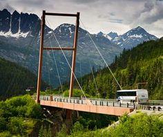 Captain William Moore Bridge, Alaska