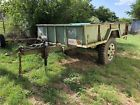1986 Military Cargo Trailer 9x6 TX title & plates electric jack hand breaks Military Vehicles For Sale, Cargo Trailers, Us Military, Electric, Plates, Licence Plates, Dishes, Griddles, Dish