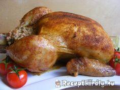 Töltött csirke 3