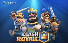Clash Royale is a combination of card battle with tower defense components. It features your beloved characters from the Clash of Clans universe. A pure competitive RTS, the game opposes you against randomly chosen human competitors in live multiplayer battles that take place in bite-sized fields. The main goal is to destroy competitor's crown towers and the player who destroys the maximum number of towers will be the winner of an arena battle.