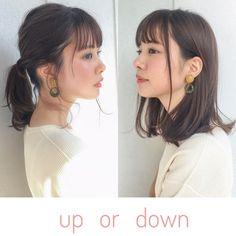 ラフにストレートにおろしても、ざっくり結んでもかわいいロブスタイルが人気です(^^) 予約確認からblogへ飛べます(^^)