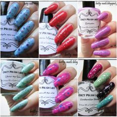 Betty Nails: *C* Crazy Polish Lady (PT) [The Indie Guide Project]