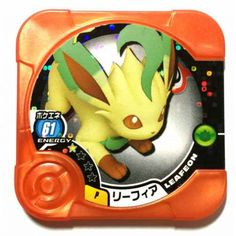 Pokemon 2014 Leafeon Torretta Promo Coin