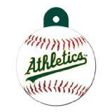 http://ift.tt/1ViuXi3 Quick-Tag Oakland Athletics MLB Personalized Engraved Pet ID Tag 1 1/4 W X 1 1/2 H  Image Product: Quick-Tag Oakland Athletics MLB Personalized Engraved Pet ID Tag 1 1/4 W X 1 1/2 H  Model Product: Quick-Tag Oakland Athletics MLB Personalized Engraved Pet ID Tag 1 1/4 W X 1 1/2 H  Engraved with up to five lines of personal information  Officially licensed tag lets your pooch show team spirit  Ensures your pet can be properly identified for a safe return  Helps prevent…