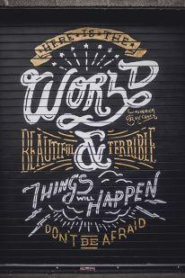 Designspiration — Design Inspiration Cool Typography, Typographic Design, Typography Quotes, Typography Letters, Typography Poster, Typography Images, Types Of Lettering, Lettering Design, Vintage Lettering