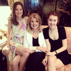 """It hasnt all been glamorous public moments for media mogul @ariannahuff. There have been plenty of messy painful private moments. And her daughters Christina 27 and Isabella 24 have had a front row seat to all of it. You see the blooper reel as well as the highlight reel and I think with a lot of well known people we only look at the highlight reel so we think that things were always easy for them"""" says Isabella on the phone with Entrepreneur. She watched her mother found and run the…"""