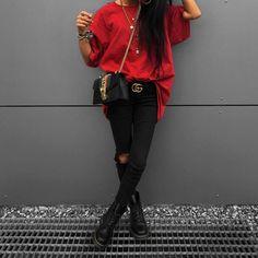 Likes, 132 Comments - Kim Duong Estilo Fashion, Fashion Mode, Fashion Killa, Look Fashion, Ideias Fashion, Girl Fashion, Winter Fashion, Fashion Outfits, Womens Fashion