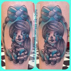 https://www.facebook.com/VorssaInk, http://tattoosbykata.blogspot.fi, #tattoo #tatuointi #katapuupponen #vorssaink #forssa #finland #traditionaltattoo #suomi #oldschool #zombie