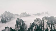 Chinese Landscape, Half Dome, Mountains, Nature, Travel, Viajes, Traveling, Nature Illustration, Off Grid