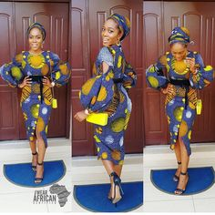 Latest ankara styles 2019 for ladies: check out Perfect and beautiful Ankara Styles For Wedding Party African Dresses For Women, African Print Dresses, African Attire, African Wear, African Fashion Dresses, African Women, African Prints, African Style, African Outfits