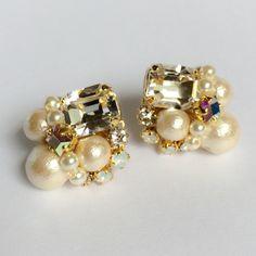 cotton pearl party bijou