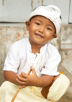 heart breaking smile from Indonesia