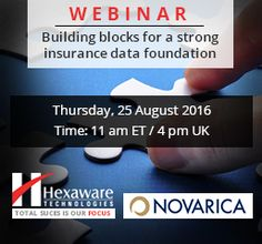 Building blocks for a Strong Insurance Data Foundation