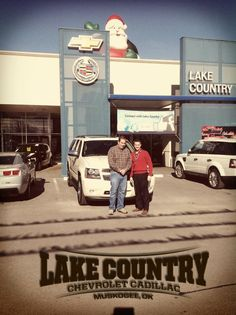 Find more photos of our completely satisfied customers at http://www.facebook.com/lakecountrychevroletcadillac