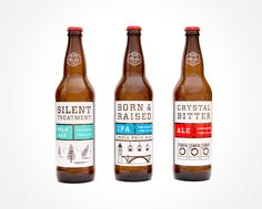 beer labels with a pop of color | No-Li Brewhouse