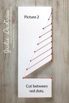 christmas tree paper Christmas and Holiday Card Ideas Christmas Card Crafts, Homemade Christmas Cards, Christmas Cards To Make, Homemade Cards, Holiday Cards, Creative Christmas Cards, Paper Christmas Trees, Christmas Ecard, Stamped Christmas Cards