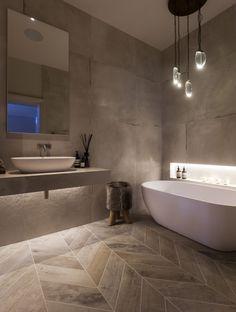 50+ elegant modern bathroom design ideas (21) #interiordesign