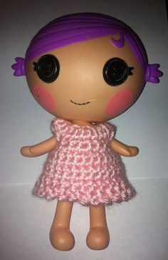 crochet Lalaloopsy dress