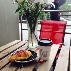 The #rain feels good. Come by have a cup of #coffee, sit #outside and still stay #dry #hoboken #jerseycity #coffeeshop