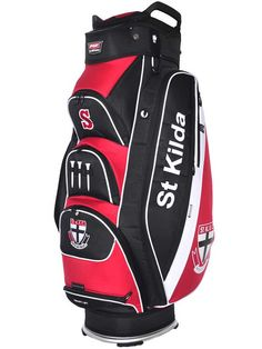 7c446ca207d Official AFL St Kilda Saints Premium Cart Bag - Buy Online - Golf Bags -  GolfBox