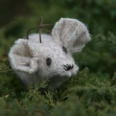 Recycled Sweater Mice