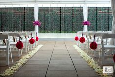 Wedding ceremony hotel Alden in Houston