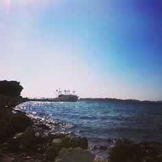 Podvrške, Murter #podvrske #podvrške #beach #port #murter #island #islandmurter #nokia #nokiae52 #instaphoto #crostagram #lovecroatia #croatia #croazia #kroatien #hrvatska