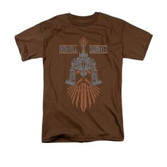 The Hobbit: The Battle Of The Five Armies Ironhill Dwarves Adult Brown T-Shirt from Warner Bros.: This… #Movies #Films #DVD Video