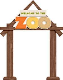 """Photo from album """"Jady Day Studio - Summertime Fun - At The Zoo"""" on Yandex. The Zoo, Zoo Clipart, Baby Zoo Animals, Cartoon Zoo Animals, Jungle Pictures, Jungle Theme Classroom, Zoo Crafts, Zoo Park, Kids Zoo"""