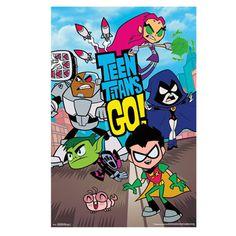 Wall or Party Poster - Teen Titans Go Cartoon