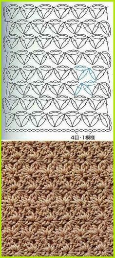 Patterns and motifs: Album crocheted pattern 5