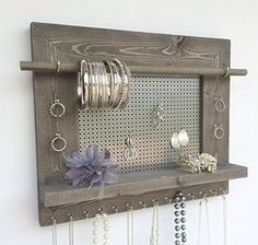Bathroom Organization 9 Easy DIY Projects Anyone Can Do Necklace