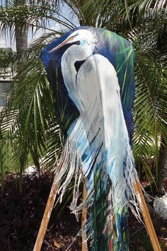 how to paint a palm frond fish art - Yahoo Image Search Results Palm Tree Crafts, Palm Tree Art, Palm Trees, Palm Frond Art, Palm Fronds, Fine Art Amerika, Palmiers, Pallet Painting, Sea Art