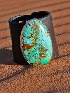American cut Turquoise Cuff available at #BritWest