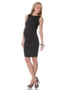 Nicole Miller Sleeveless Sheath Maternity Dress.jpg