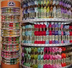 DMC Floss Custom Order 25 Skeins Brand New Embroidery by YacketUSA, $16.25