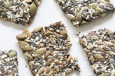 Seed crackers (gluten and dairy free) – Recipes – Bite