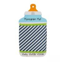 Baby Bottle Koozie - Hot Pink Polka Dot Grey Chevron, Navy Stripes, Embroidery Blanks, Low Country, Baby Boutique, Pink Polka Dots, Baby Bottles, Blue And White, Navy Blue