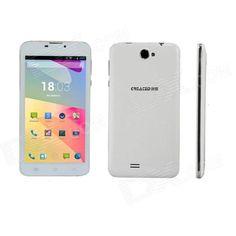 "CREATED M7 6"" IPS Quad Core Android 4.2 WCDMA Phone / Tablet PC w/ 1GB RAM, 8GB ROM, EU Plug - White Price: $136.58"